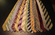 Lot of 15 Designer Neck Ties - Croton, Nautica, Ondee, Tasso Elba and more L051