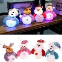 Christmas Snowman Ornaments Festival Party Xmas Tree Hanging Decoration Marked