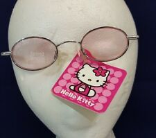 RARE 2000 Sanrio HELLO KITTY Pink SUNGLASSES Eyeware UV Sun Glasses NEW