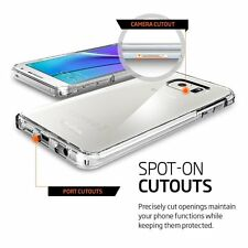 For Samsung Galaxy Note 5 Soft Crystal Clear Hybrid Soft TPU Phone Case Cover
