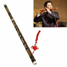 Chinese Traditional Musical Instrument Handmade Bamboo Flute in D Key