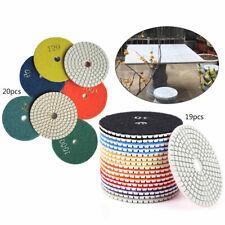 20pack Dry Diamond Polishing Pads 4 Inch Set Kit For Marble Concrete Granite Usa