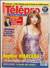 TELEPRO 2412 (25/5/2000) SOPHIE MARCEAU BOUVARD MARIELLE NOIRET ROCHEFORT