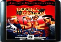 Double Dragon (1992) 16 Bit Game Card For Sega Genesis . Mega Drive System
