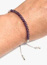 Just Gemstones Amethyst Yoga Balance Reki Bracelet