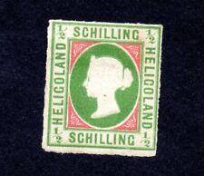 HELIGOLAND VICTORIA  1867 COLONIE BRITANIQUE TIMBRES N° 1 ET 4 NEUF  Y&T