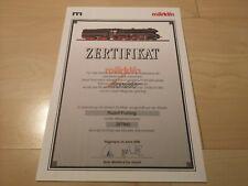 Märklin Insider Zertifikat 34080 / 37080 - BR 10 - guter Zustand !!