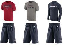 Lot NIKE NFL Football short t-shirt long Taille M Homme HOUSTON TEXANS NEUF