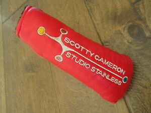 Scotty Cameron Red Studio Stainless Blade Headcover