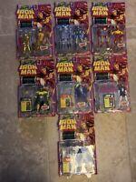 1994Marvel Comics Toy Biz Lot of 7 Complete Group Set-See Description For Detail