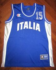Canotta basket jersey ITALIA FIBA MATCH WORN GAME USED ITALY camiseta trikot