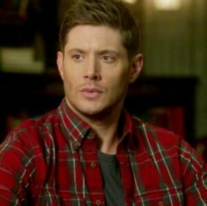 Dean Winchester Red Shirt Supernatural Small NWT