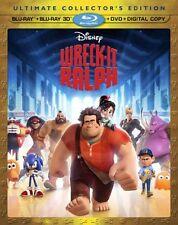 NEW Wreck-It Ralph (Blu-ray 3D/Blu-ray/DVD + Digital Copy)