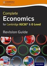 ECONOMICS FOR CAMBRIDGE IGCSE & O LEVEL REVISION GUIDE