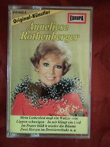 ANNELIESE ROTHENBERGER - EUROPA MC 1986 - 12 Titel - Operretten Klassiker -