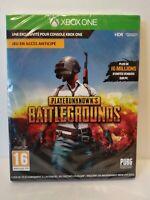Playerunknown's Battlegrounds - Jeu XBOX ONE - Pal française - Neuf/New & sealed