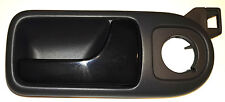 VW LUPO SEAT AROSA INNER RIGHT DOOR HANDLE PULL GENUINE GRAY BLACK GLOSSY