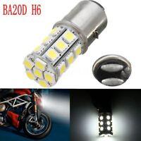 BA20D H6 24 LED SMD Ampoule Phare 6000K 12V Motorcycle MotorBike Moped ATV PIT