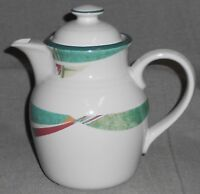 Noritake Stoneware NEW WEST PATTERN 6 Cup Coffee Pot MADE IN JAPAN