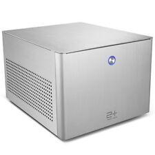 GOLDEN FIELD N-2S Aluminium Mini Game Cube ITX Computer PC Desktop Case Casing
