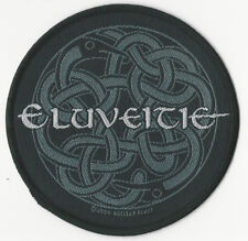 Eluveitie patch - Celtic Knot - WOVEN SEW ON PATCH - free shipping