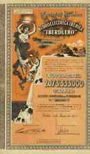 Hidroelectrica Frosst Iberduero 1954 Bilbao madrid iberdrola renovables 500 pts
