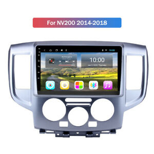 "10.1"" HD Wifi Android 9.0 Car GPS Stereo Radio 2+32G For Nissan NV200 2014-2018"