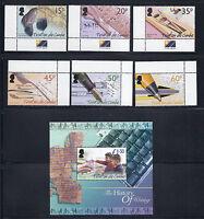 TRISTAN DA CUNHA 2004 HISTORY of WRITING (Sc 740-6) VF MNH