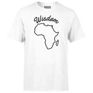 Anthony Joshua - Wisdom T-shirt - White Small, Medium and Large Sizes NEW
