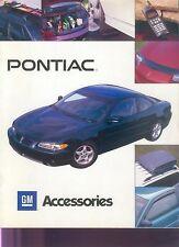 Pontiac Accessories Prospekt 1997 sales brochure Auto PKWs Autoprospekt Amerika