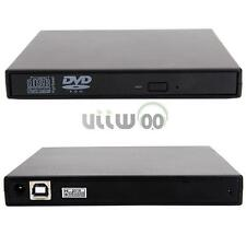 USB 2.0 External DVD ROM Player Reader Combo Drive for Laptop PC Plug-and-play