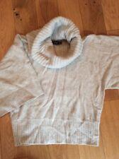 Mexx Womens Cowlneck Wool Jumper Uk Medium Brand New