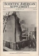 1913 Scientific American Supp June 7 - Fireproofing New York; Cheddar Cheese