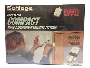 Schlage Keepsafer Compact Home & Apartment Security System w/ Remote 71-151
