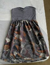 Size Large Roxy Strapless Dress