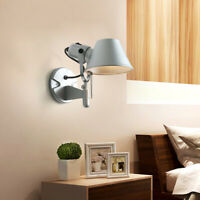 Aluminum Wall-mounted Reading Lamp for Hotel Bedroom Modern Decor LED Wall Light