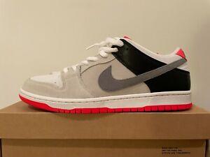 Nike SB Dunk Low infrared Orange Label UK 10 US 11 Travis Supreme