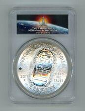 2019 Apollo 11 50th Anniversary $1 Silver 5 oz Coin PCGS PR70DCAM FS PR 70