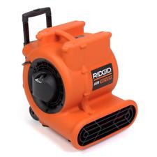 Ridgid 1625 Cfm Air Mover High Volume Indoor Blower Fan 3 Speed Portable Orange