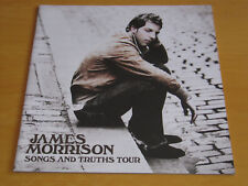 JAMES MORRISON - SONGS AND TRUTHS TOUR - TOUR PROGRAMME      (PROMO)
