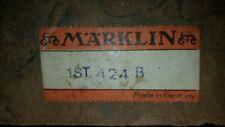 MÄRKLIN, 424B, US Zone, ZollKontrole, OVP, leerkarton, boîte,doos, superrarität