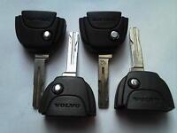 GENUINE VOLVO V40 V70 C70 S40 S60 S70 ETC 5 BUTTON REMOTE TYPE FOR FLIP KEYS X4