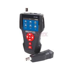 Digital Network Cable Tester Error Detector Ping Poe Function Rj45 Rj11 Bnc Coax