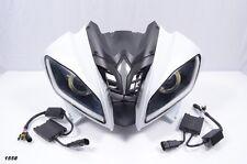 2009 Yamaha YZF R6 YZF-R6 OEM Front Upper Fairing + Headlight Assembly LED HALO