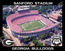 Georgia Bulldogs - Sanford Stadium - Flexible Fridge MAGNET