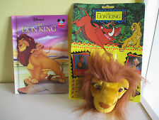 HB Grolier Disney Lion King Simba Soft Toy Travel Charm Clip On NEW