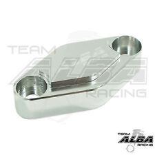 Yamaha Raptor 660 700 350 250 125  Parking Brake Blockoff Plate Block off Silver