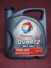 Total Quartz Ineo MC3 5w30 5 Litros Aceite de motor / dexos-2 ™ / BMW / MERCEDES