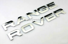 For RANGE ROVER (1 SET) CHROME HOOD OR TRUNK EMBLEM NAMEPLATE DECAL BADGE