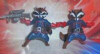 Marvel Universe Guardians Of The Galaxy 3.75 ROCKET RACOON 2 Figure Lot